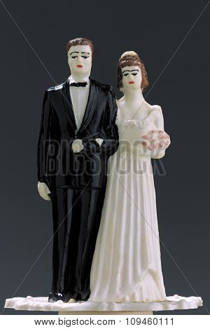 vintage wedding figurines