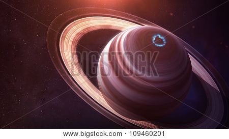Saturn - High resolution best quality solar system planet. All the planets available. This image ele