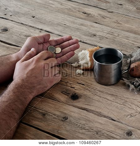 Cents In Male Hands