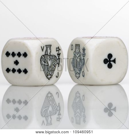valet and queen dice