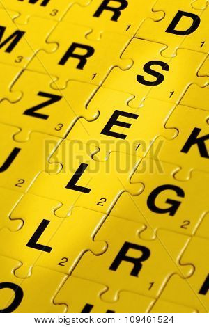 jigsaw puzzle spelling