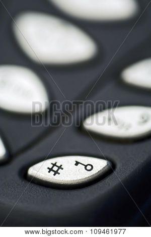 lock/# telephone key