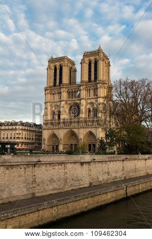 The Cathedral Notre Dame, Paris, France.
