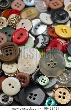 heap of buttons