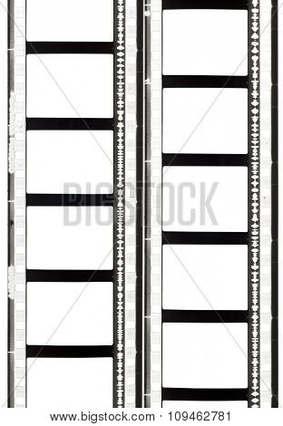 two film strips (35mm, sound) - clipping path for frames