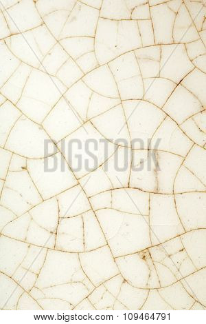 detail of a cracked marble surface