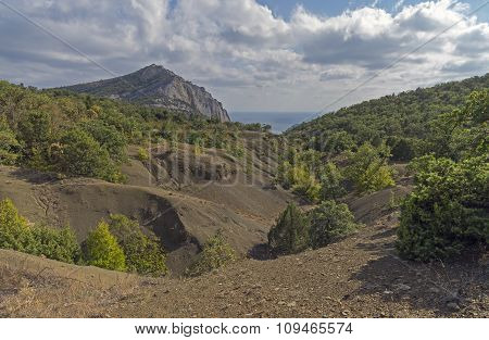 Ravine In The Crimean Mountains