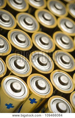 a lot of batteries