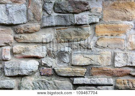 Vintage Australian Sandstone Wall 1