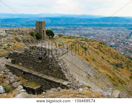 Ancient City Of Pergamon, Turkey