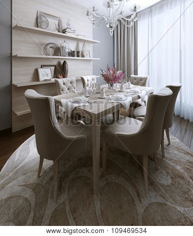 Dining Neoclassical Style