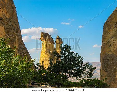 Incredible Rock Formations, Cappadocia, Turkey