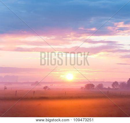Evening Sun Twilight Time
