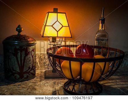 Kitchen Counter Fruit Basket