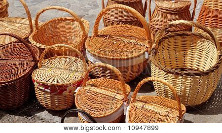 Basketry Traditional Handcraft In Spain