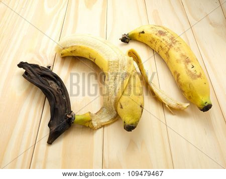 Banana, Time Travels. Things Are Changing