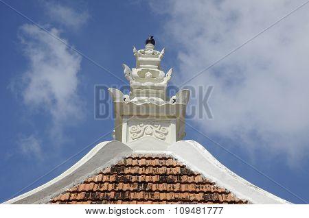 Pinnacle Peringgit Mosque in Malacca, Malaysia