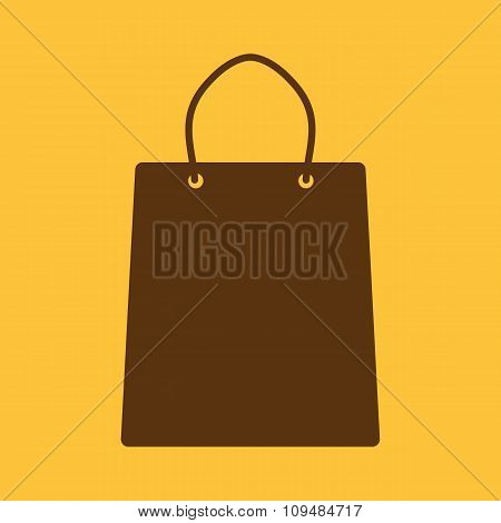 The shopping bag icon