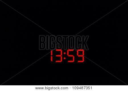 Digital Watch 13:59