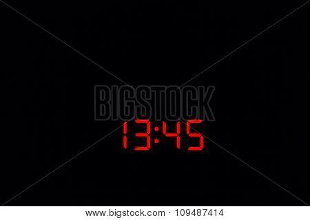Digital Watch 13:45