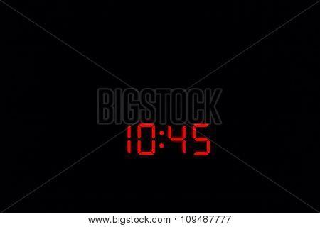 Digital Watch 10:45