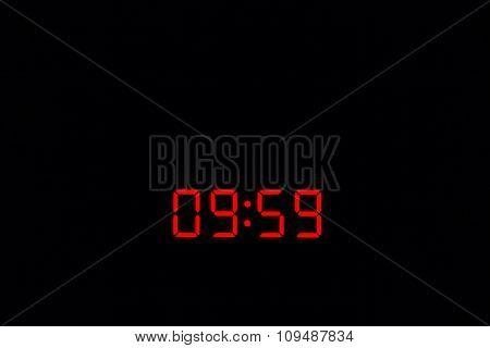 Digital Watch 09:59