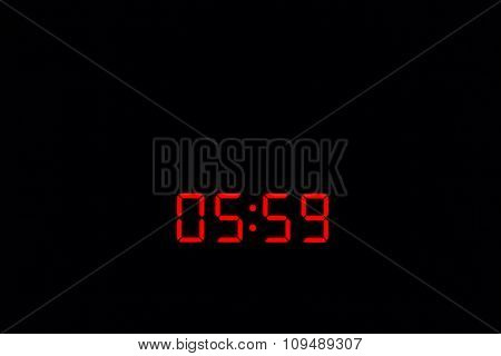 Digital Watch 05:59