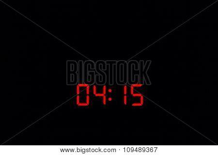 Digital Watch 04:15
