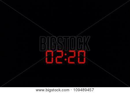 Digital Watch 02:20