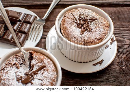 Traditional Chocolate Souffle