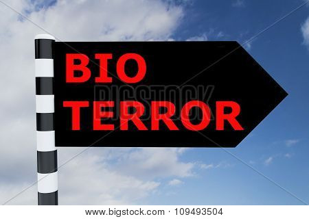 Bio Terror Concept