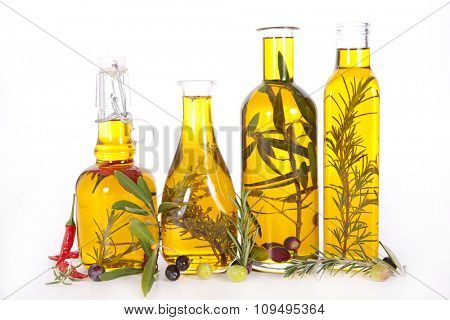 cooking oil, olive oil