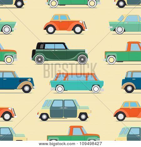 Wallpaper Of Set Vintage Cars