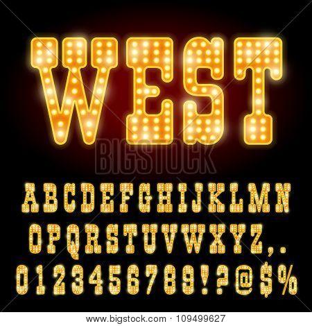 Western Night Font