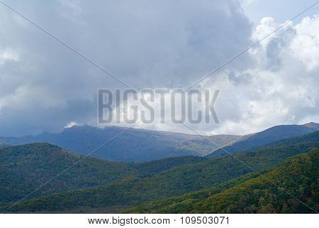 Cloudscape In Taiga