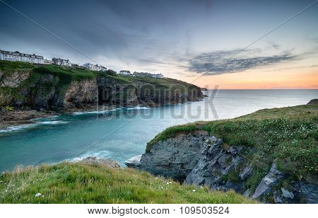 Dusk Over Port Gaverne