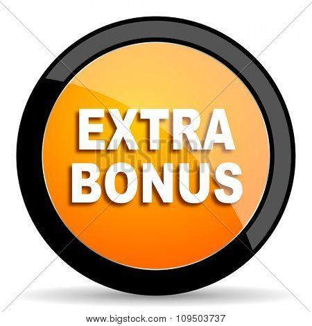 extra bonus orange icon