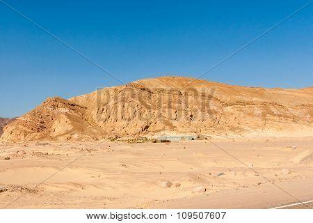 Mountains In The Sinai Desert
