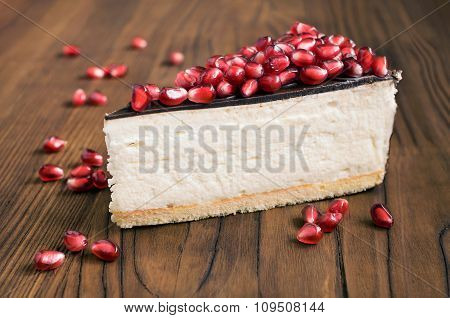 Cheesecake With Pomegranate