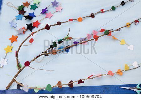 Xmas Decorations Crafts: Branch
