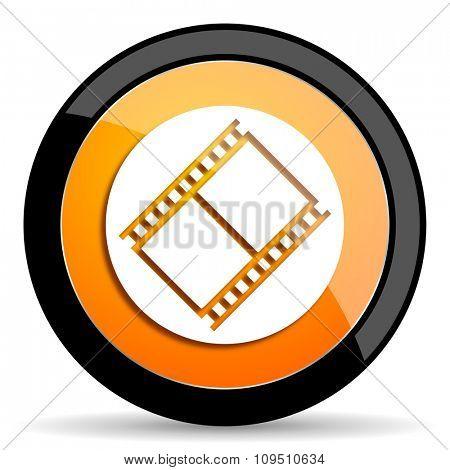 film orange icon