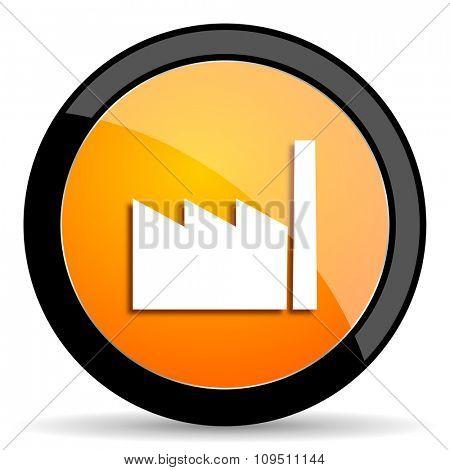 factory orange icon