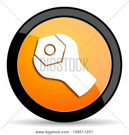 tools orange icon