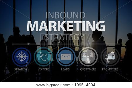 Inbound Business Marketing Strategy Commerce Online Concept