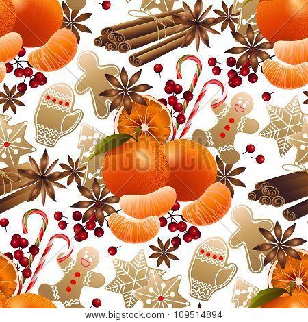 Christmas sweet pattern