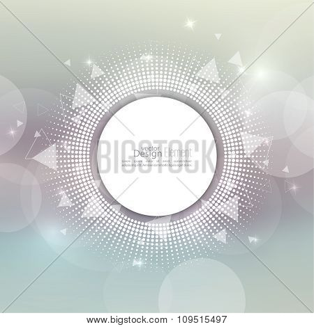 Abstract blurred vector background.