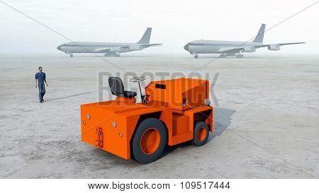Baggage tug