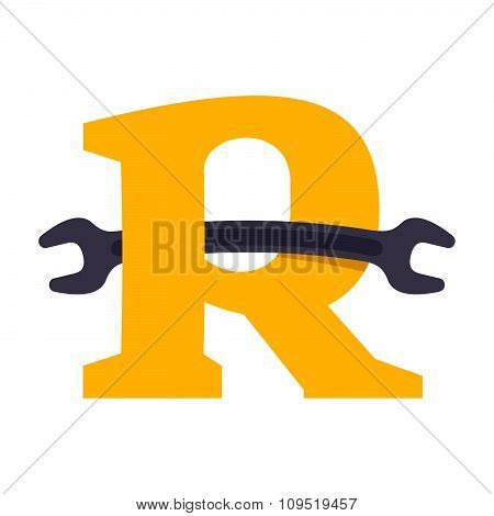 Rletter With Wrench.