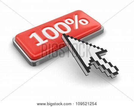 Cursor and button 100%