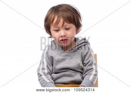 Sad Boy Face